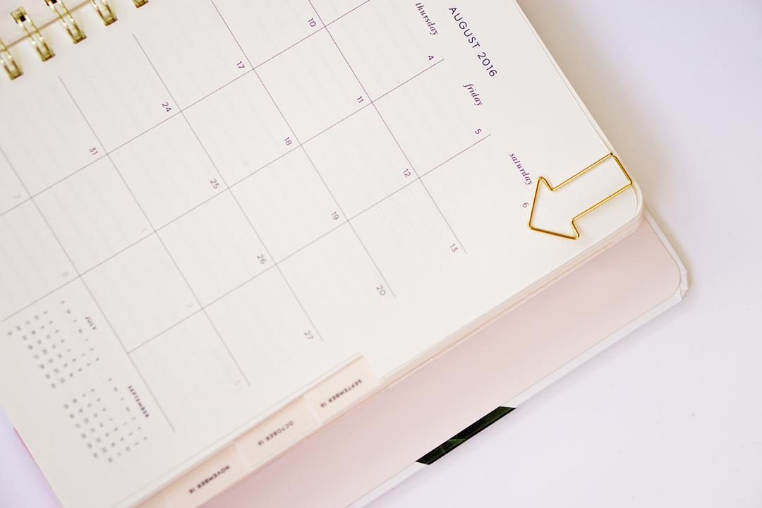 Kate Spade Calendar Planner : A fresh start first look at the kate spade planner
