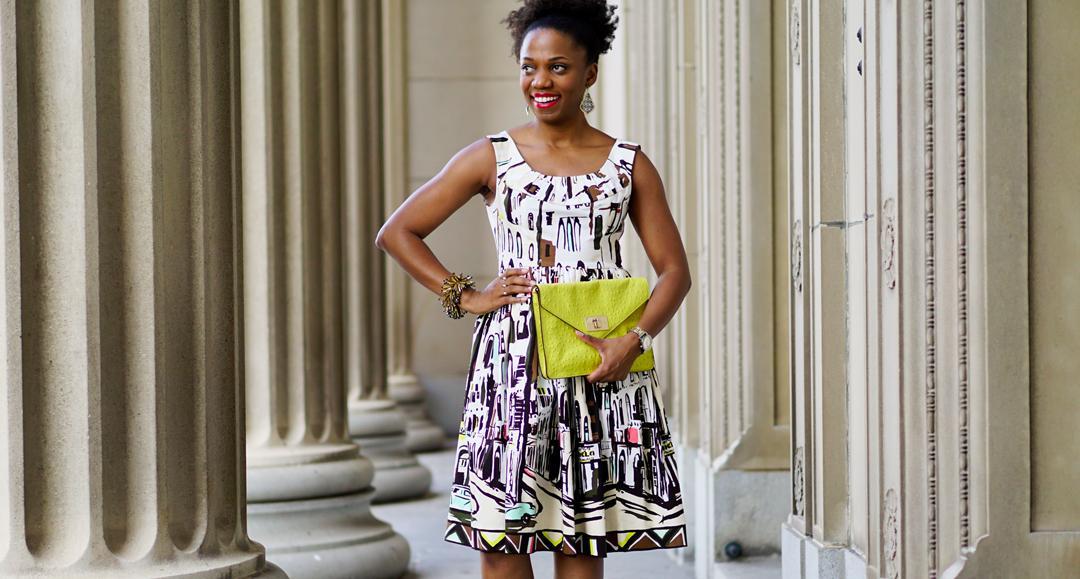 Kate Spade Havana-Inspired Landcape Dress 1c