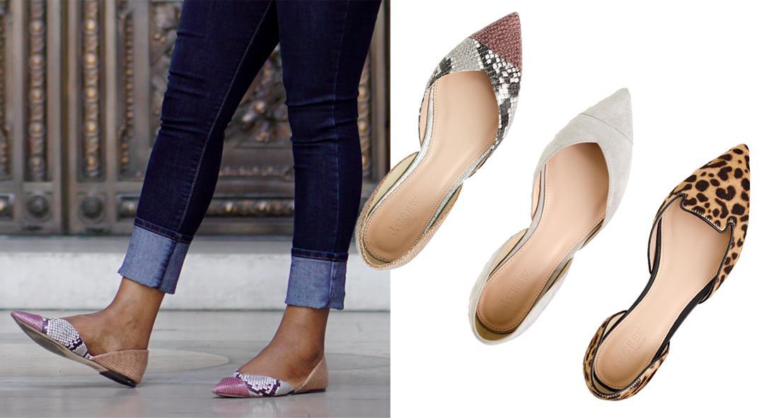 J.Crew Sadie Flats, J.Crew Shoes