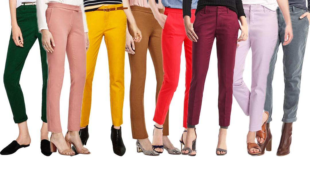 Pants in Fall 2016 Pantalone Colors, Colorful pants