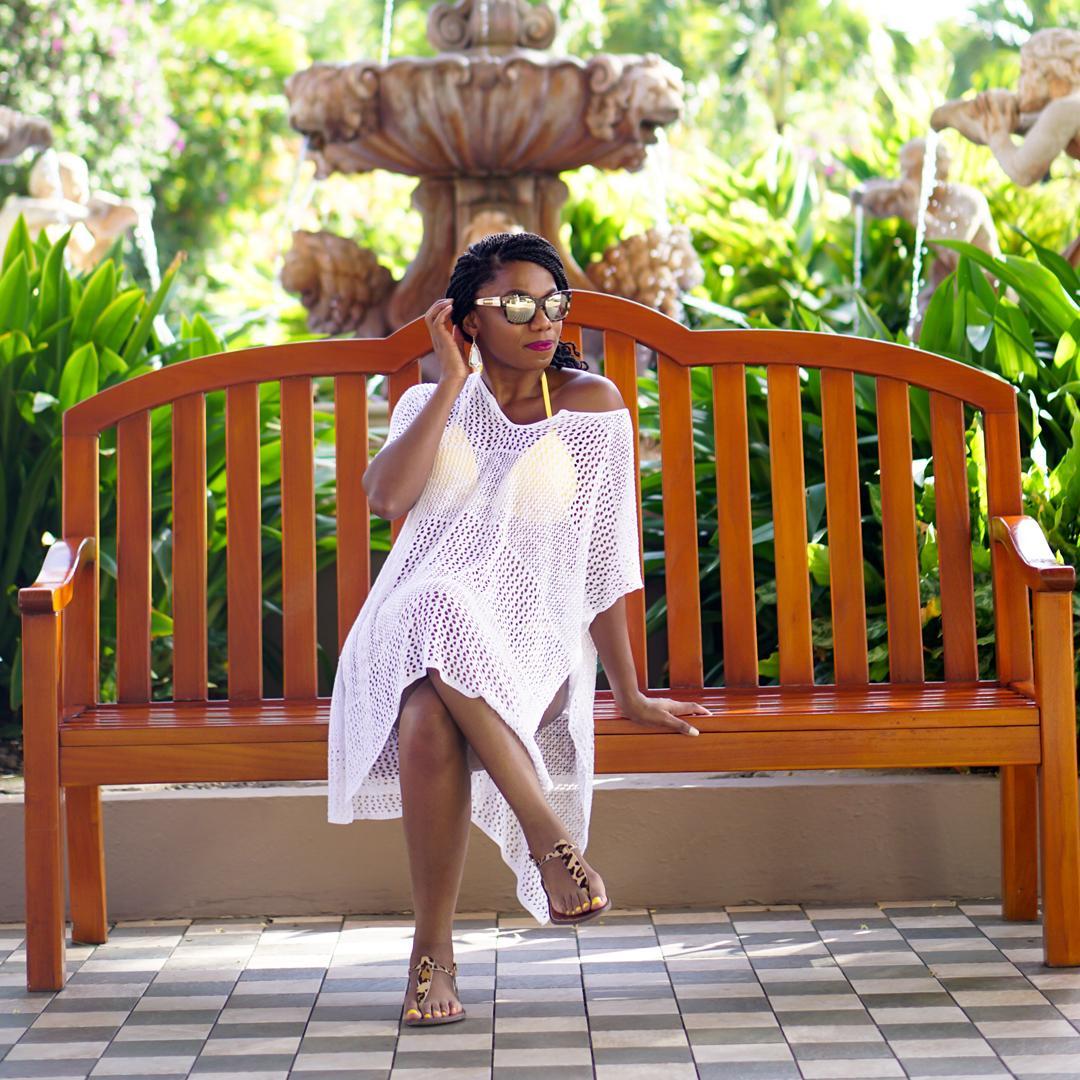 Sandals Grande St Lucian, Venus sunny yellow bikini 3c