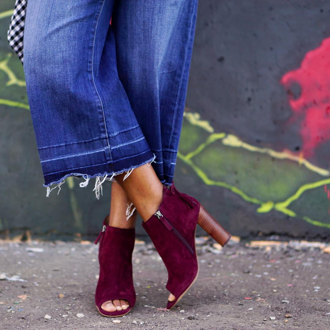 Ankle boots, Halogen Warin Open Toe Boot 2c