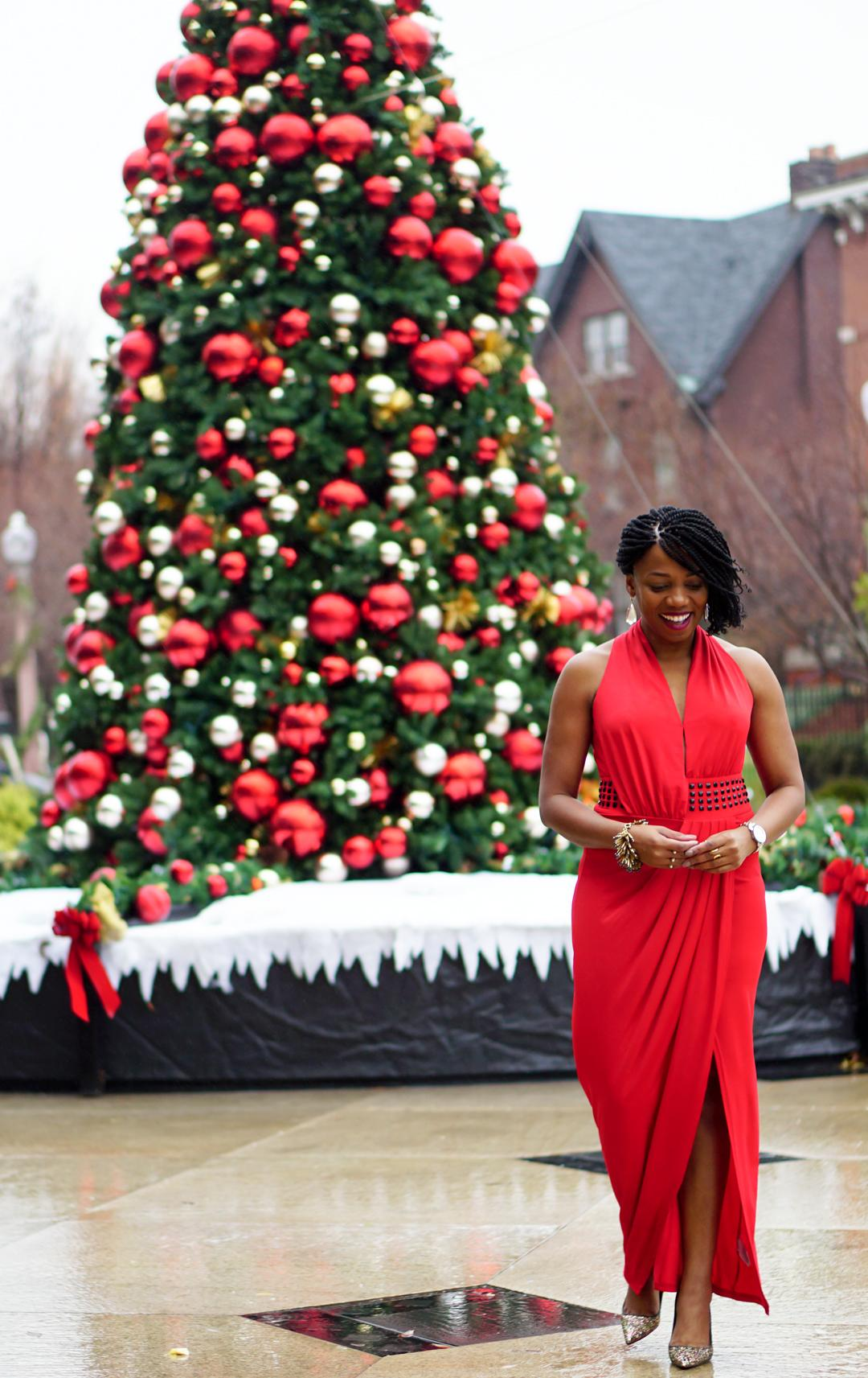 Holiday Red Dress