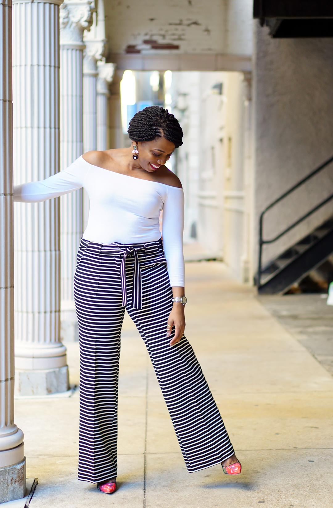 NY and Company wide-leg pants