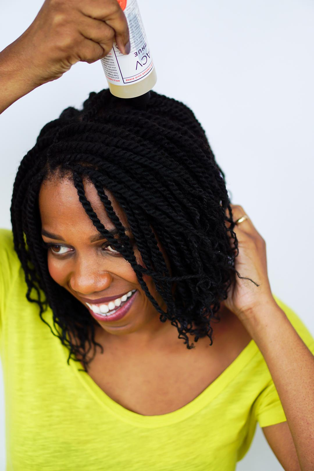 Braided Hair Care Routine
