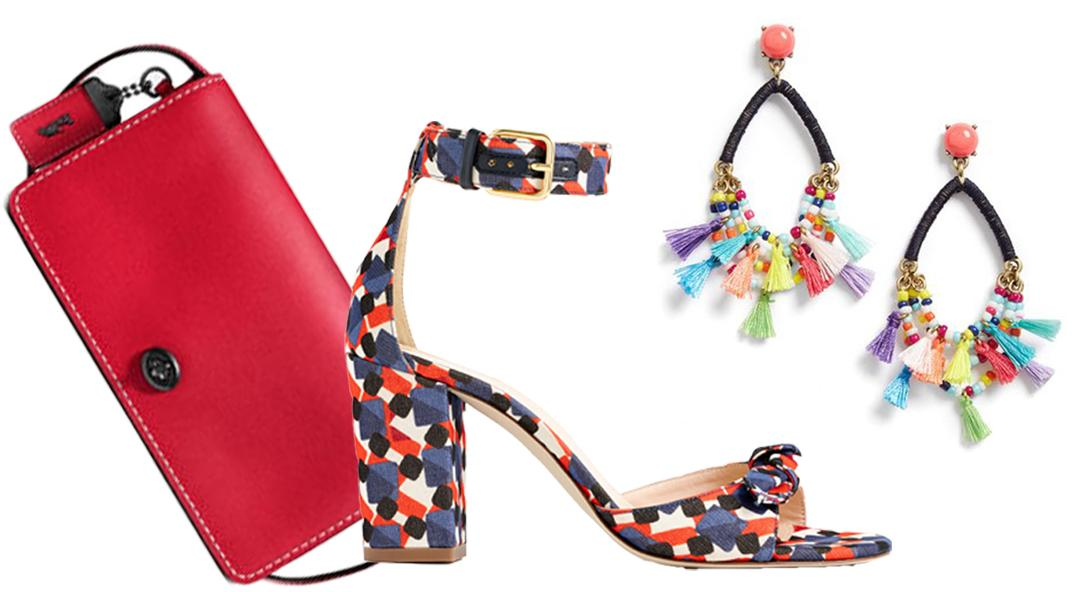 When in Doubt: Shoes, Handbags, and Jewelry