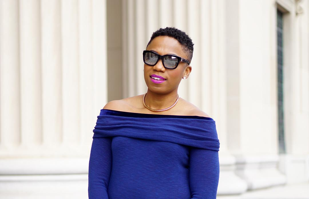 Blue Laila Jayde top