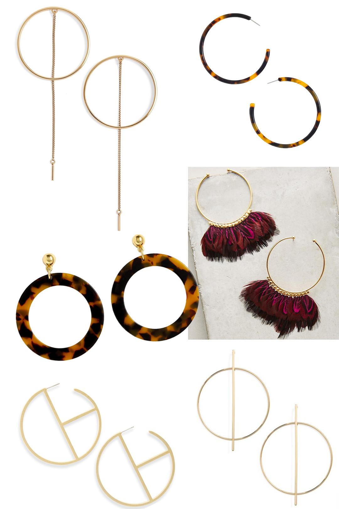 From Artsy Geometric Shapes To Funky Tassels, These Hoop Earrings Are  Simple But So Stylish