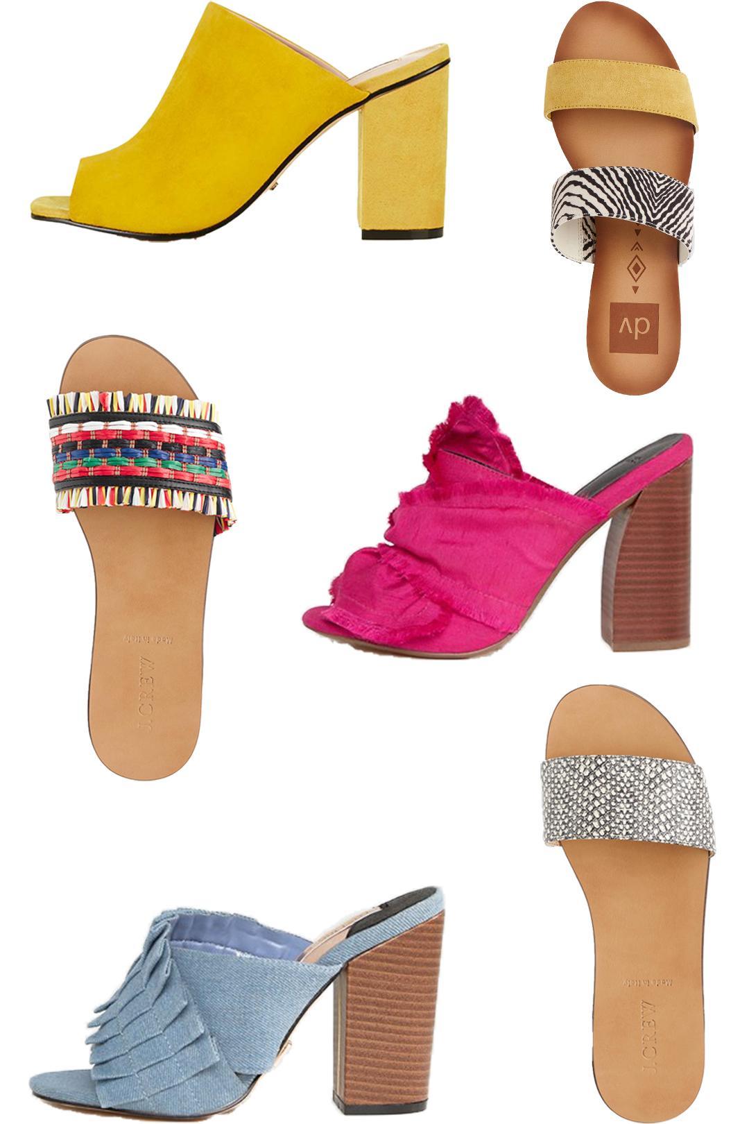 Mules Slides Shoe Trend 2017