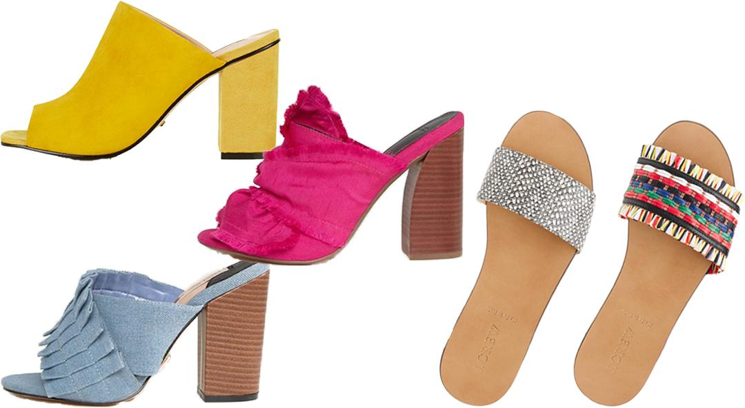 The Mules and Slides You Need to Slip on this Summer