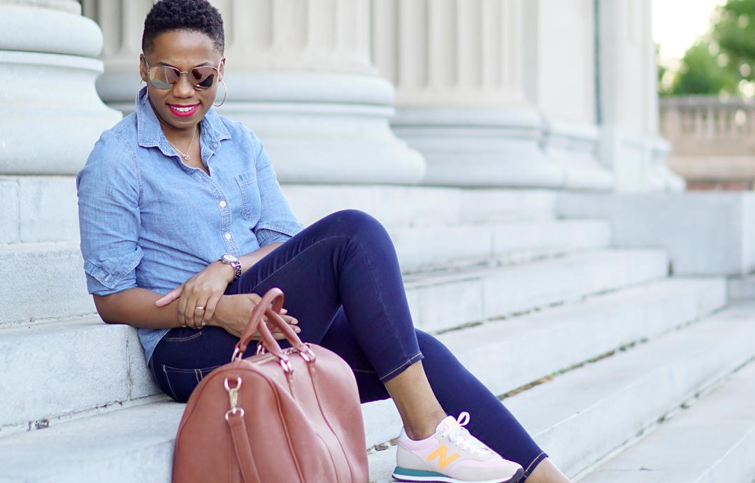 A Summer Airport Outfit to Travel in Style