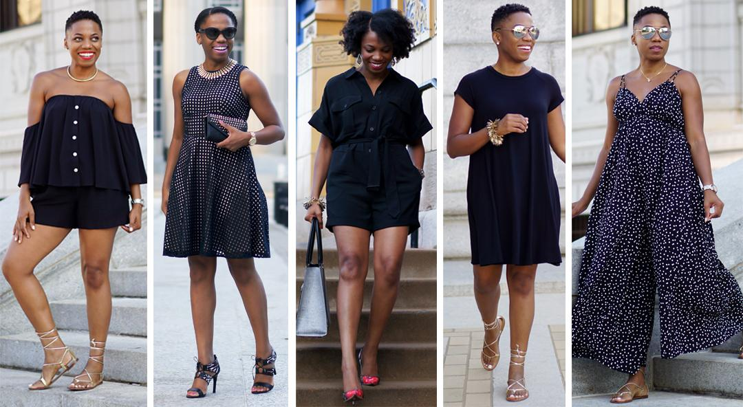 10 Cool Ways to Wear All Black in the Summer