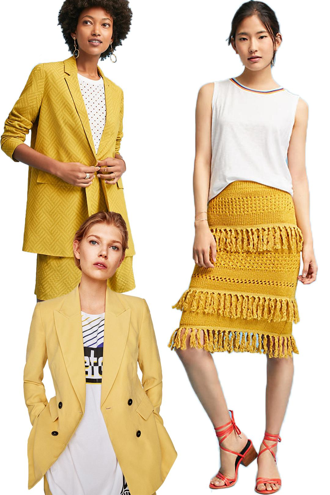 Yellow Fall Fashion Finds