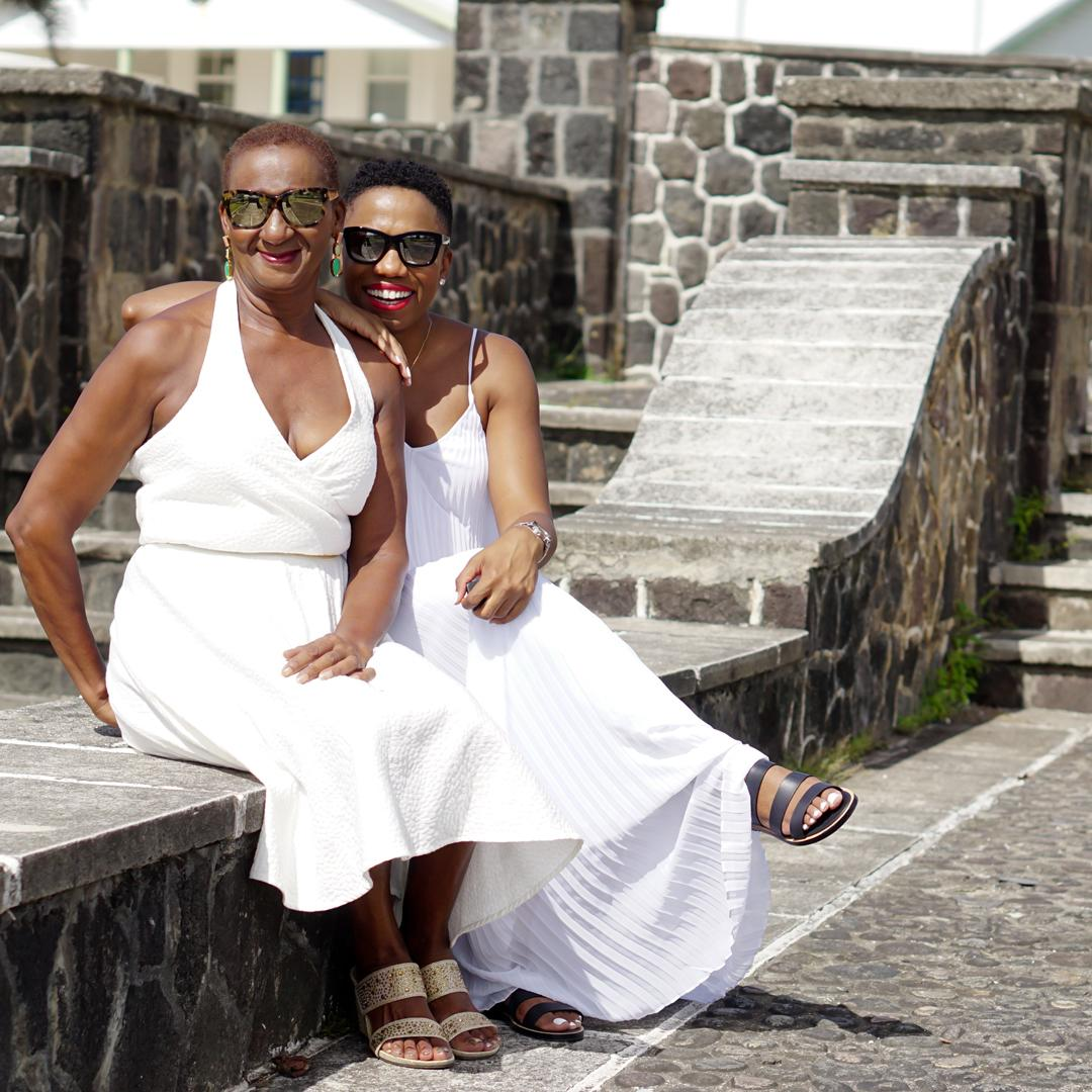 Like Mother Like Daughter All White Style Economy Of Style