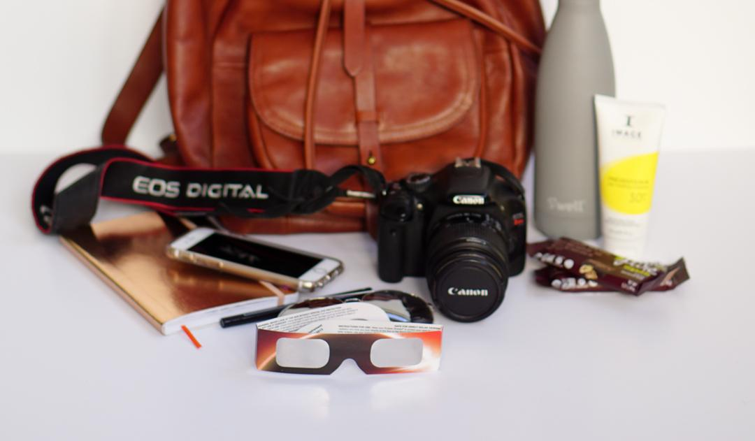 What's in My Bag: Total Solar Eclipse
