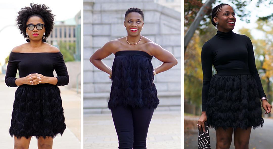 One Fabulous Fringe Skirt, Three Cool Ways to Wear It