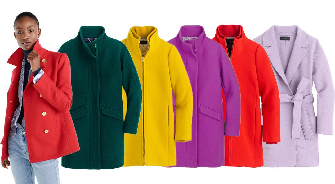 Colorful, Mood-Elevating Coats for the Cold Season