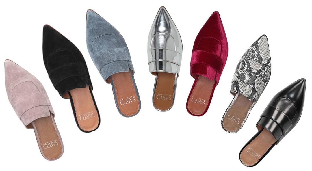 Fabulous Mules Because the Trend is Here to Stay