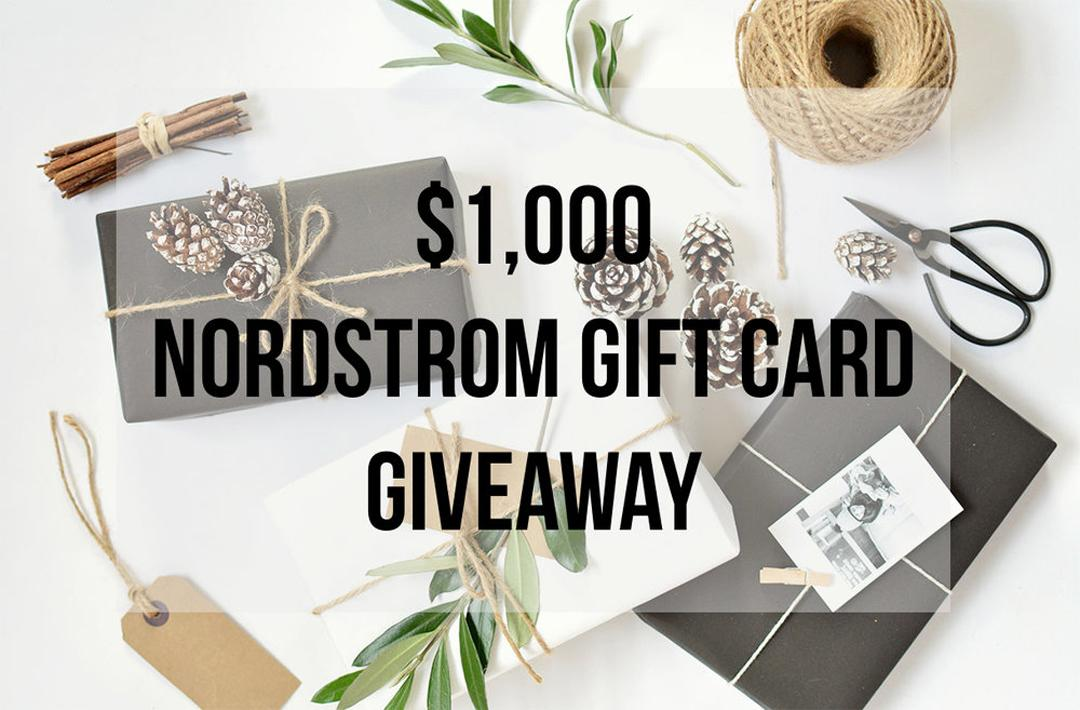 Splurge-Worthy Holiday Gifts + Win a $1000 Nordstrom Gift Card