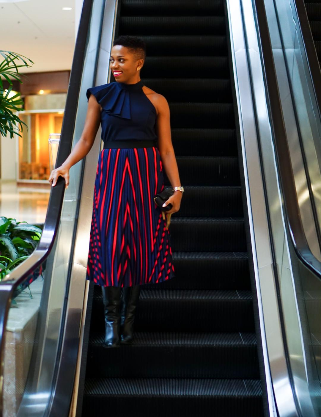 a3712e3acd Anthropologie top (option, option)   H&M skirt