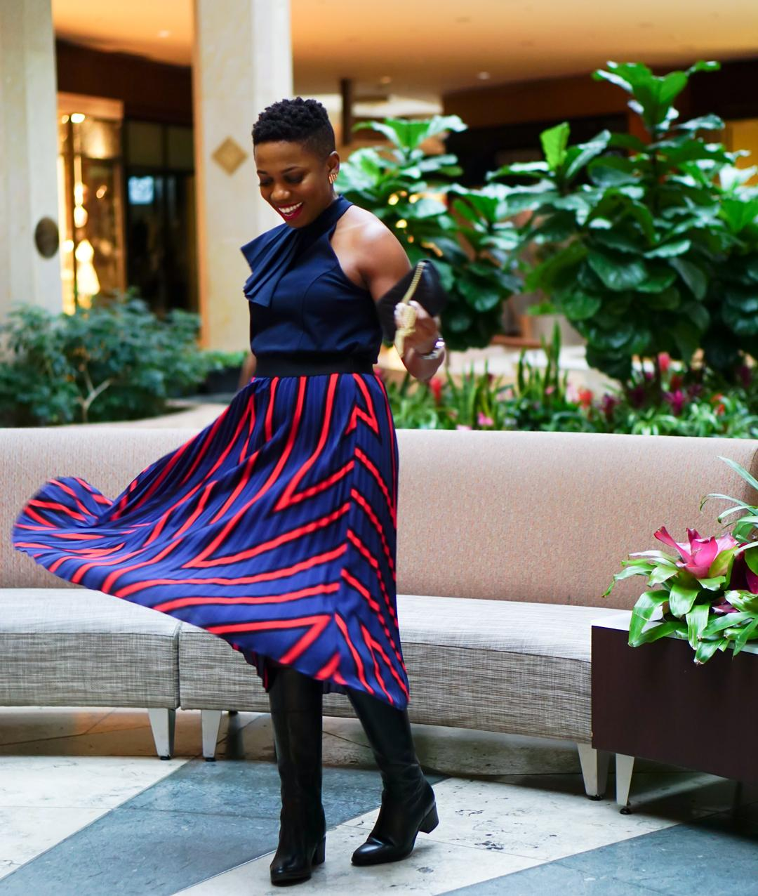 c631c96e23 What I love most about pleated midi skirts (shop mine here) is that they  wear effortlessly and move magically.