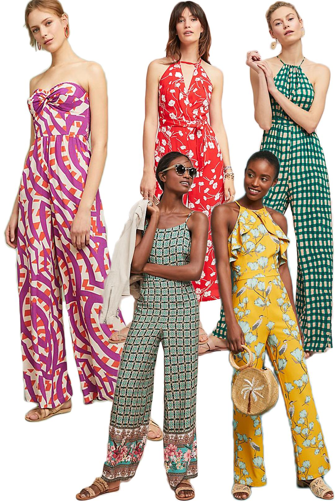 anthropologie jumpsuits