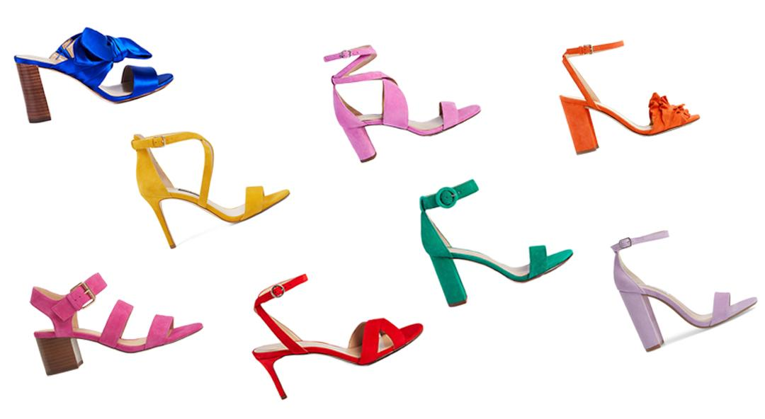Make Every Step Colorful in these Summer Sandals