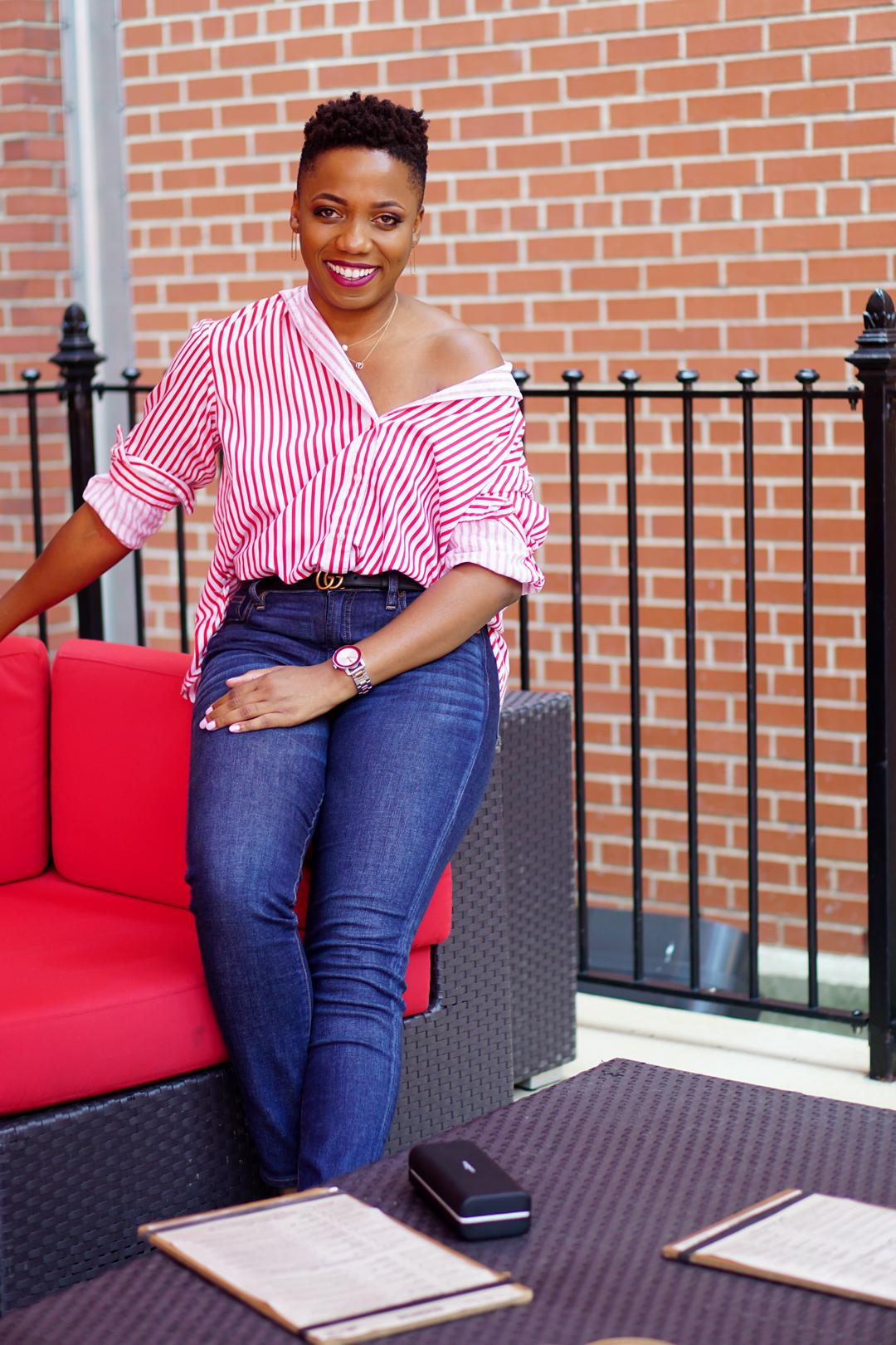 Button shirt style hack