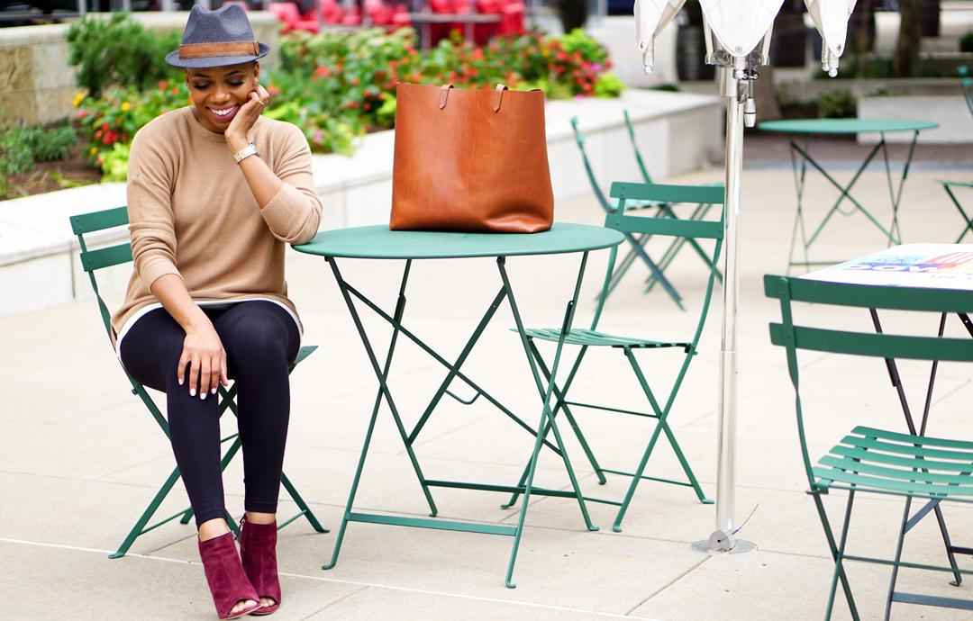 A Cool Way To Add Camel To Your Fall Style