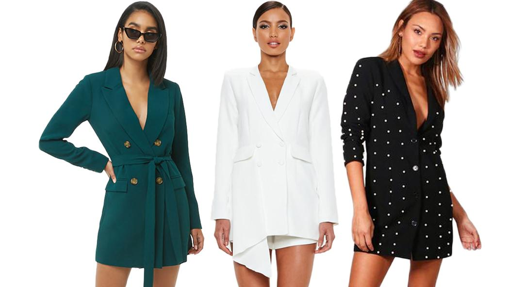 The Blazer Dress Trend Smart Dressers Are Loving Right Now