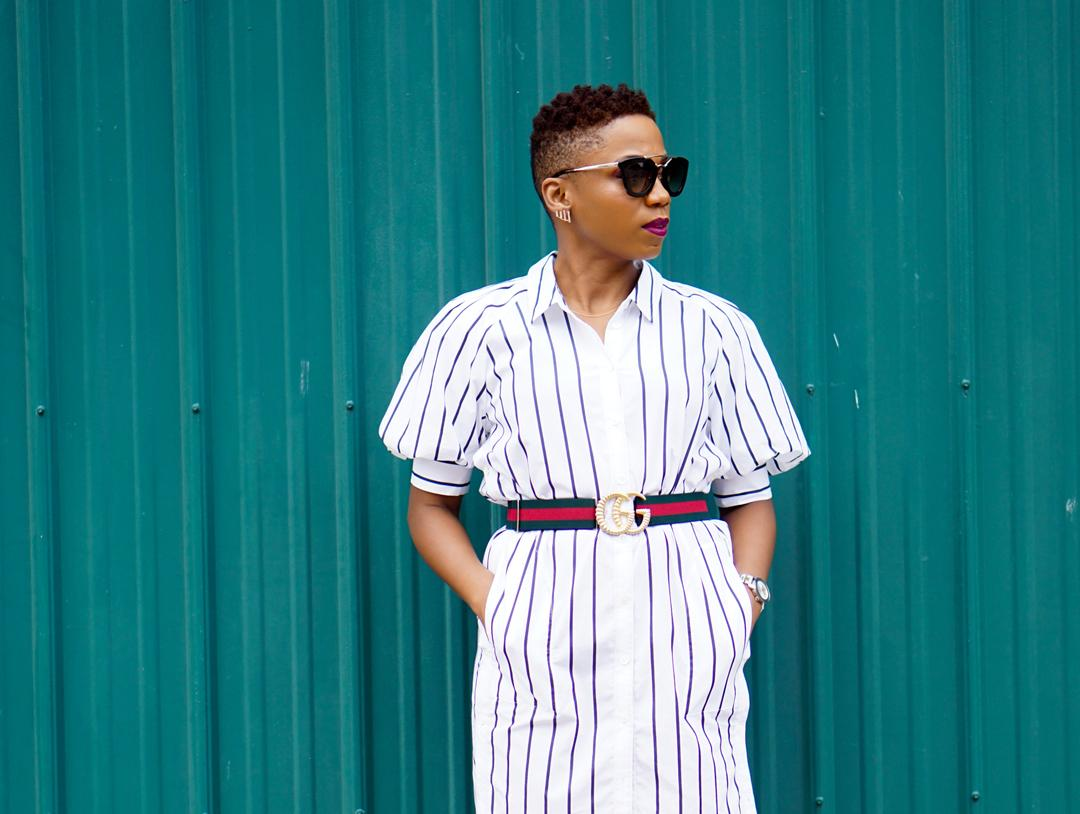 This Not-So Classic Shirt Dress Is On Sale