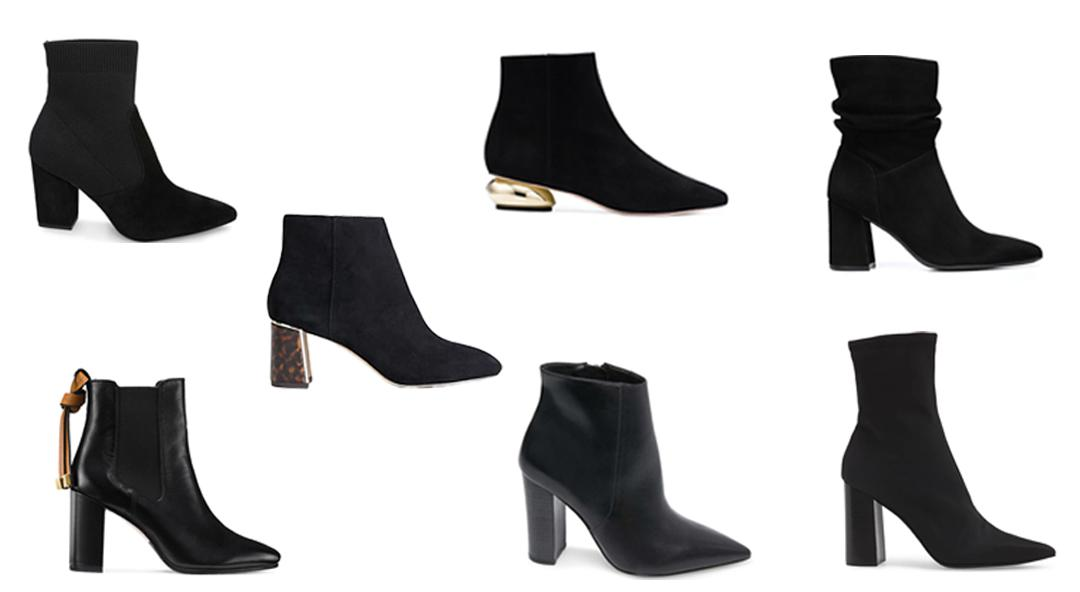 The Best Black Booties To Rock This Fall