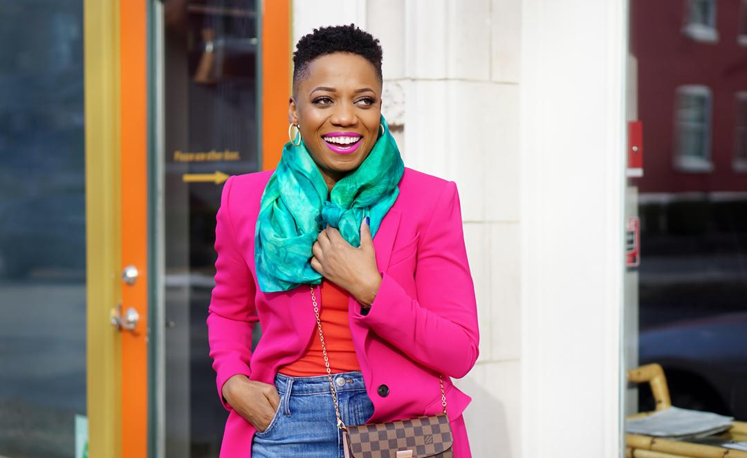 How To Pull Off The Bright Blazer Trend