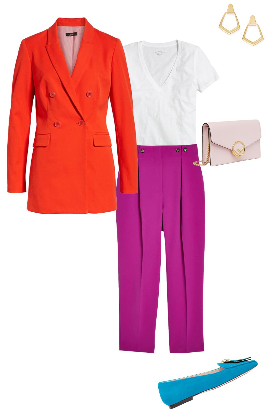 colorblocking brights