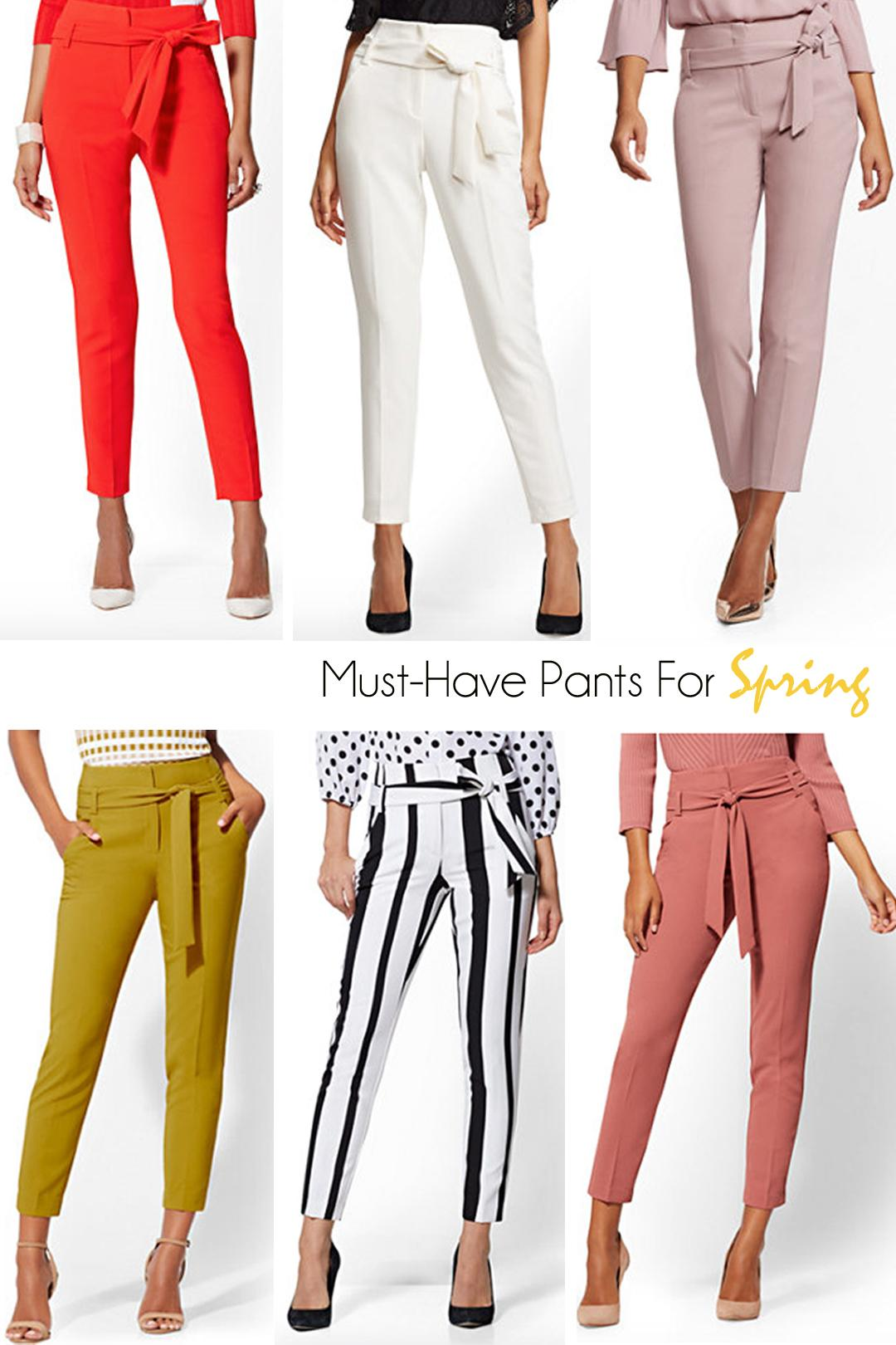 spring pants