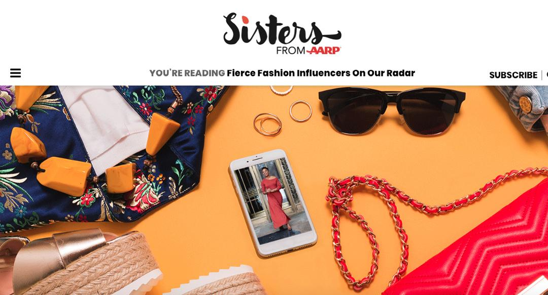 Proud To Be Featured By Sisters From AARP