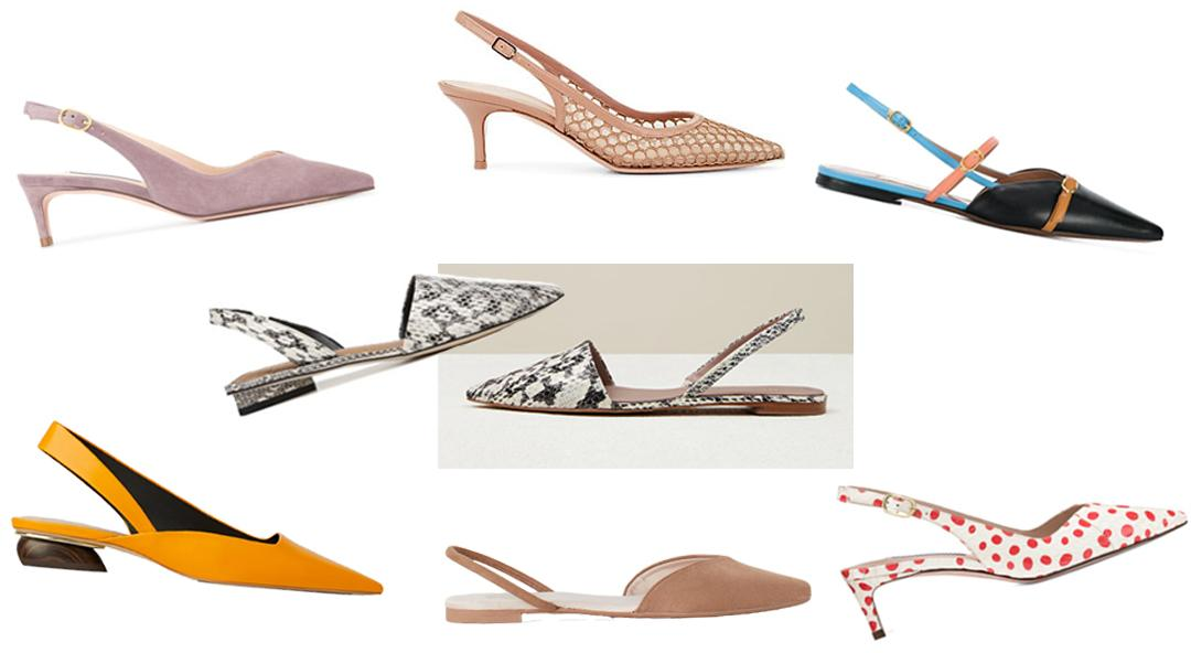 The Slingbacks You Need To Update Your 2019 Style