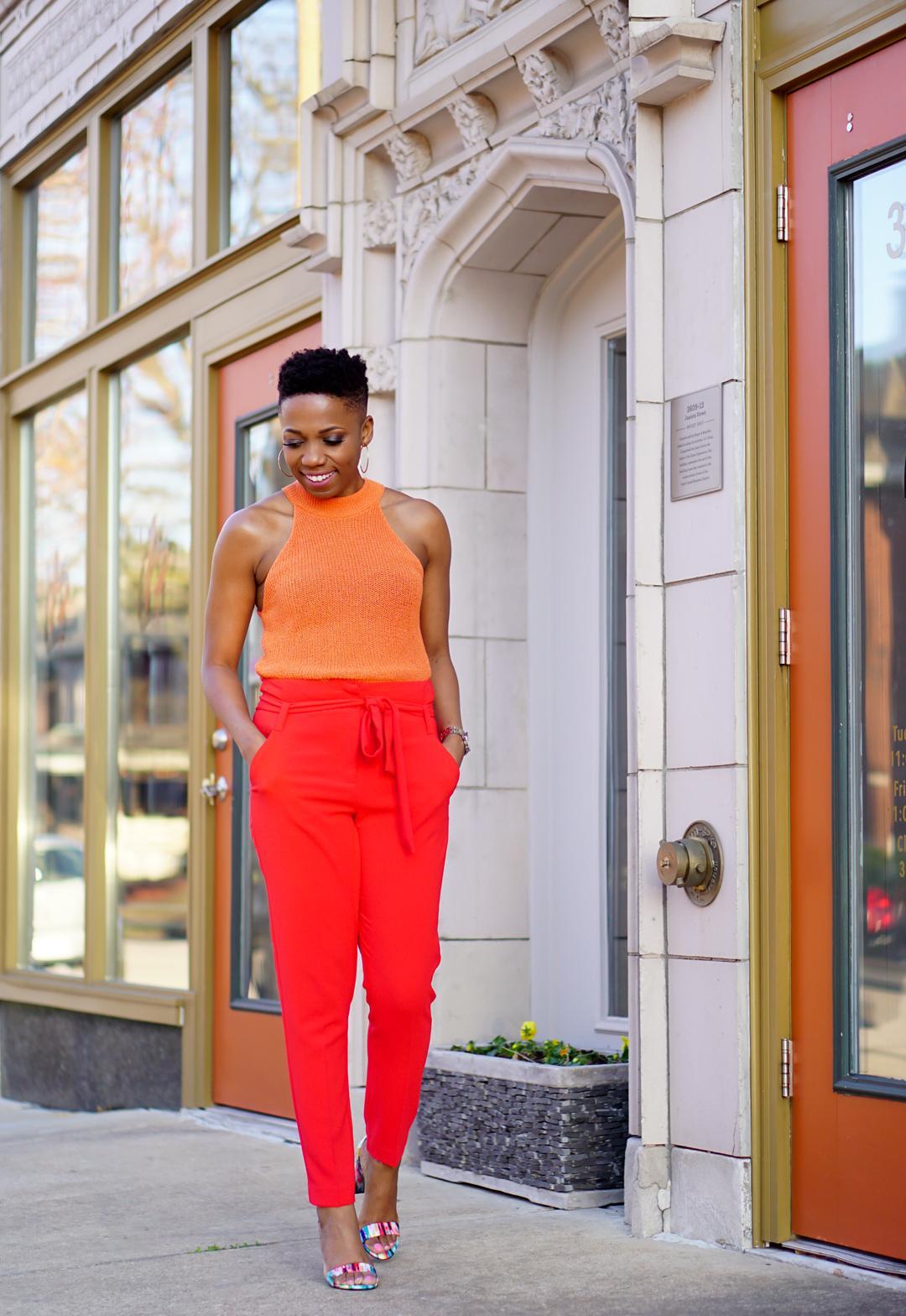 orange hues color trend