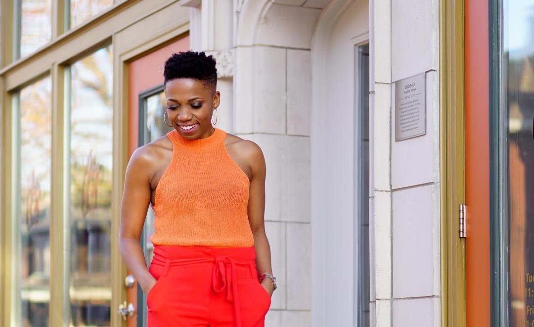 Orange Hues: A Colorblocking Combo You'll Love