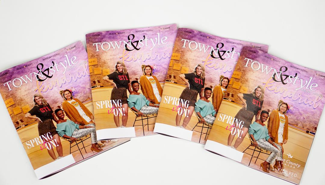 Reppin' Kindred On The Cover Of Town & Style Magazine