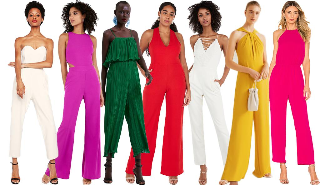 Jump For Joy, Colorful Jumpsuit Season Is Here