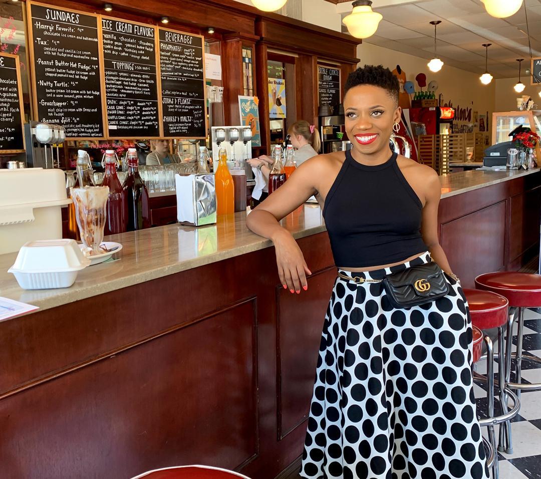 Bold Polka Dot Skirt For Under $30!