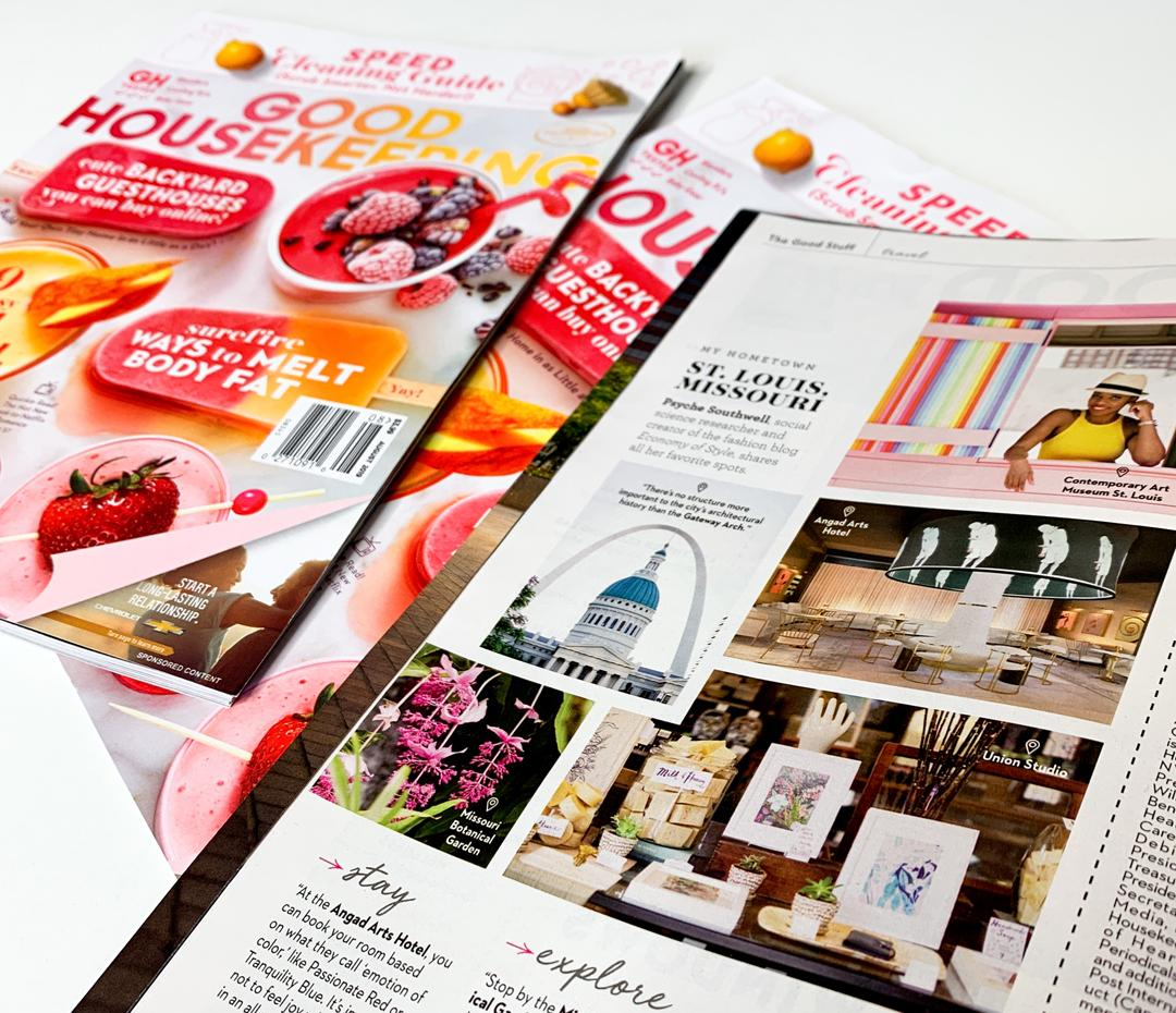 Reppin' St. Louis In Good Housekeeping Magazine