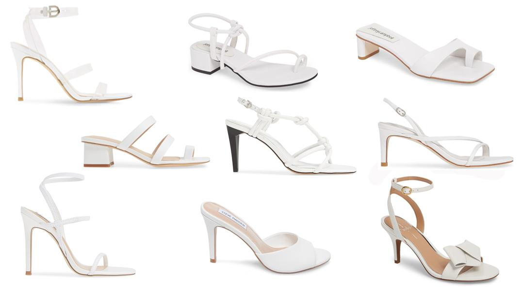 Super Sleek And Chic Pairs Of White Shoes