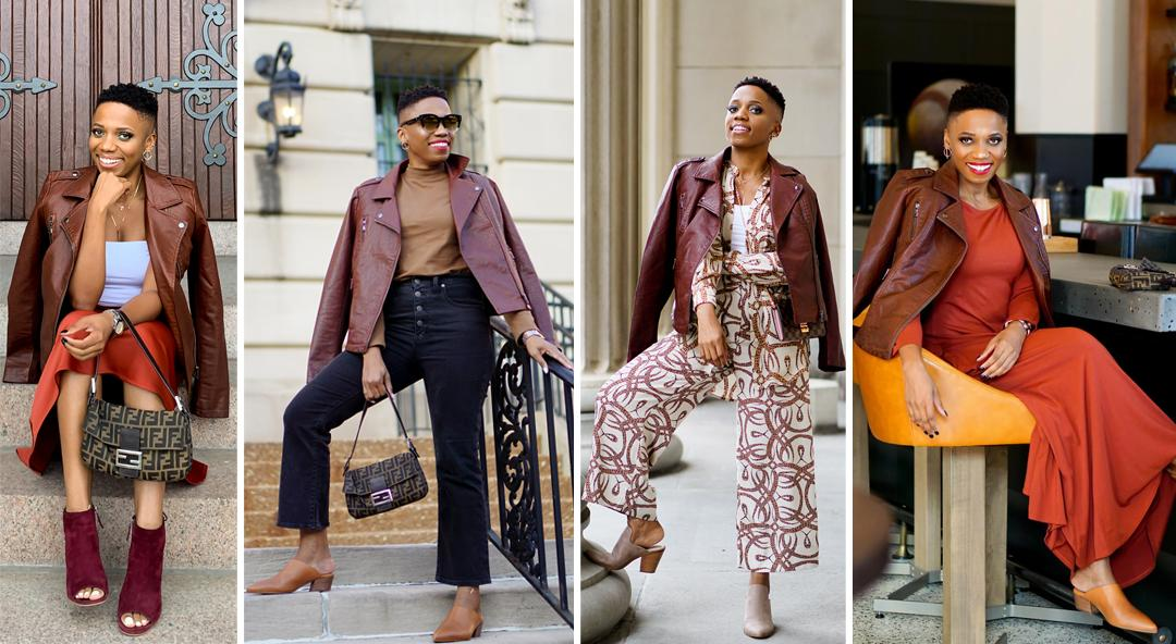 How To Stand Out In A Brown Leather Jacket