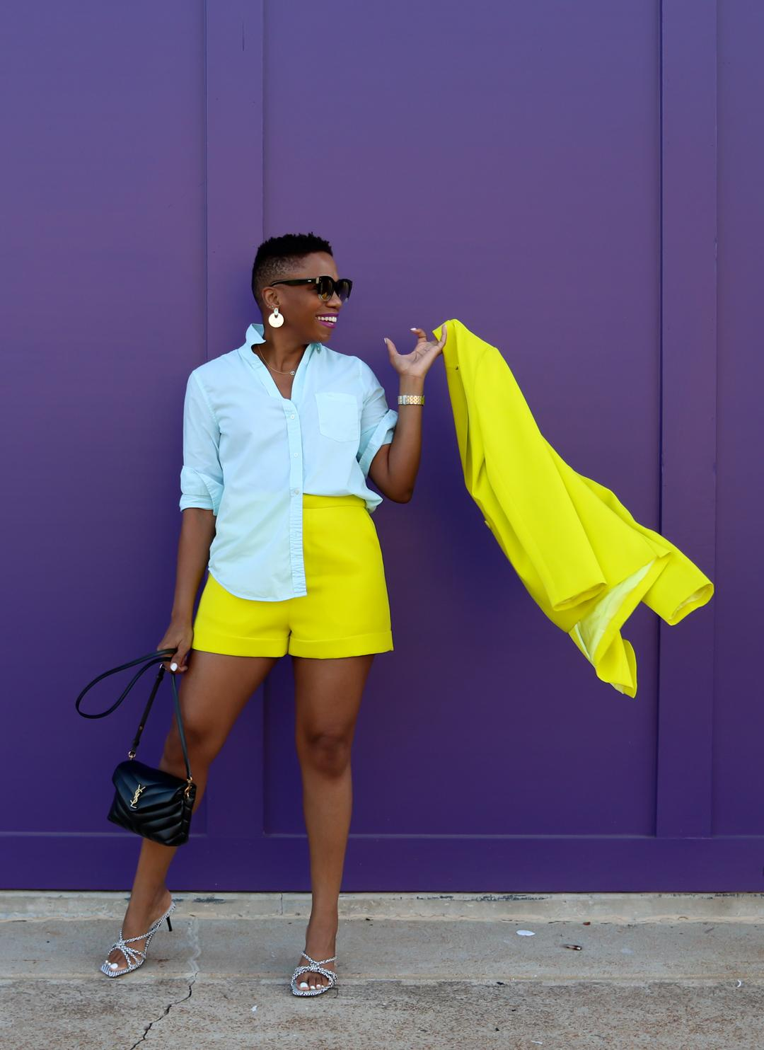 summer color blocking