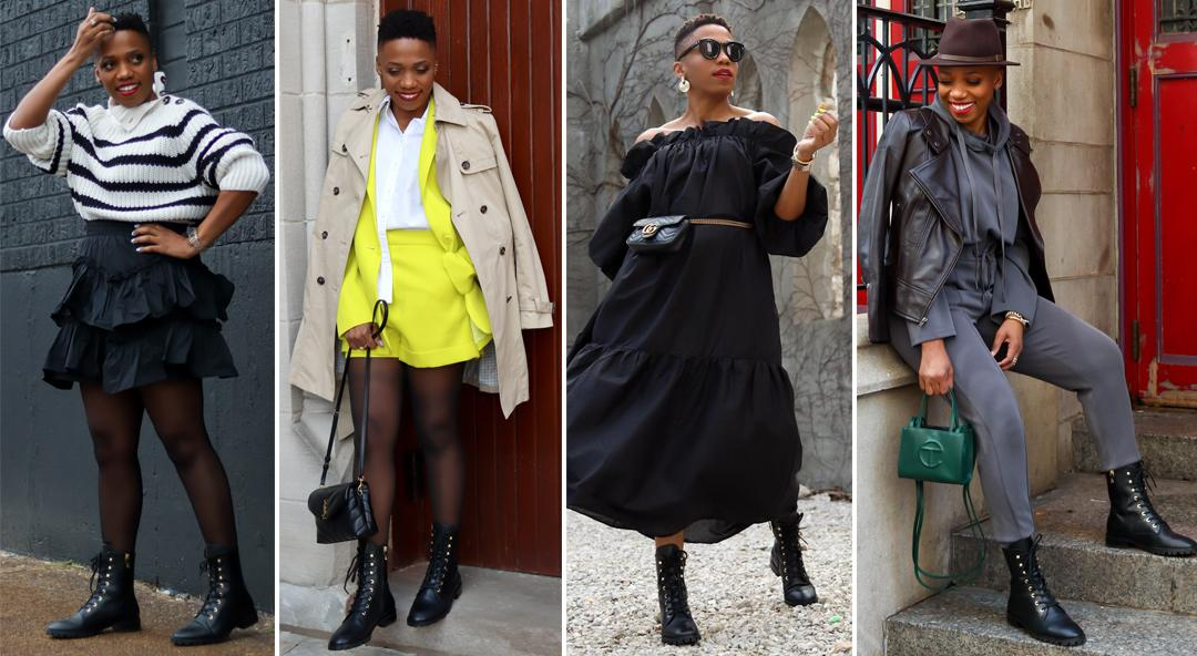 7 Outfits That Prove Combat Boots Are Essential