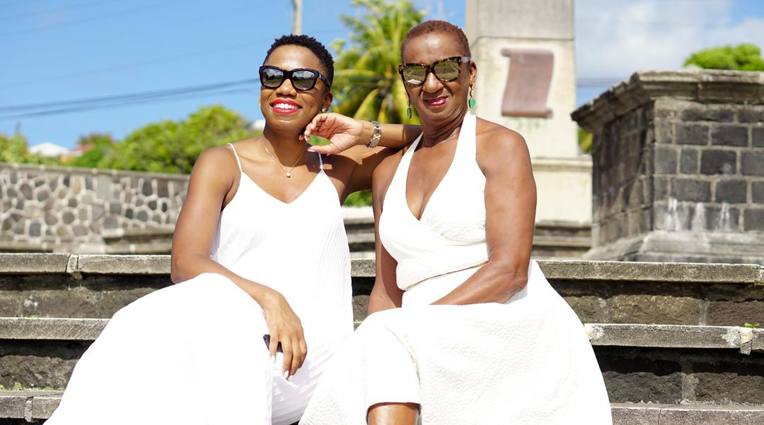 Like Mother, Like Daughter: All White Style