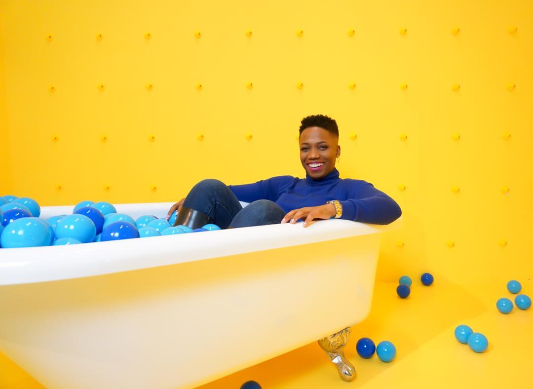 Colorblocking In The Selfie Room, A New Selfie Museum