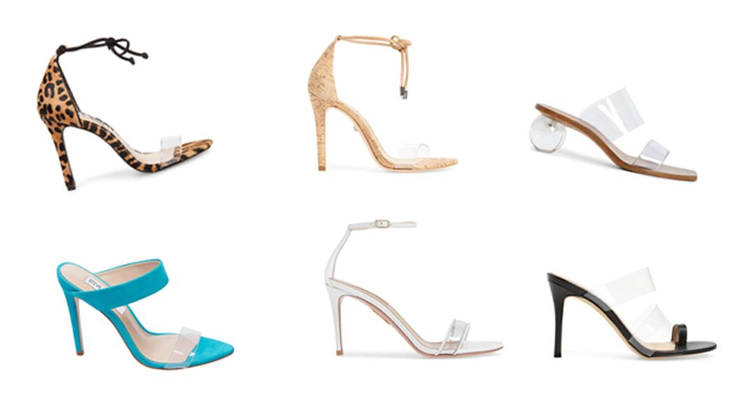 These Sandals Make IT Easy To Try The Clear Shoe Trend